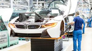 全景实拍宝马莱比锡工厂 超跑i8诞生地
