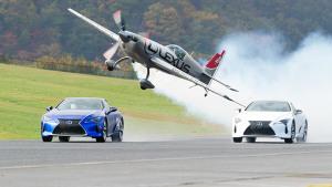 2018款雷克萨斯LC 赛道竞速挑衅滑翔机
