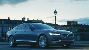 沃尔沃全新S90长轴距豪华轿车 随心所驭