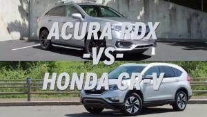 逼格还是实用 本田CR-V对比讴歌RDX
