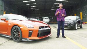 SUV竞速跑车 路虎双雄赛道迎战日产GT-R