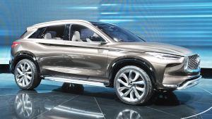 2017北美车展 英菲尼迪QX50概念车亮相
