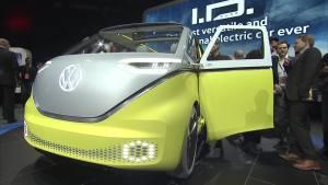 2017北美车展 大众I.D.Buzz概念车实拍