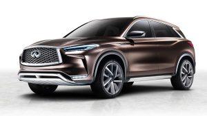 全新英菲尼迪QX50概念车 动力性能提升