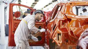 2017款日产玛驰 揭秘高科技生产车间