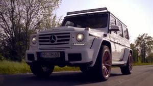 改装版奔驰G级AMG 350 耀眼金色轮毂