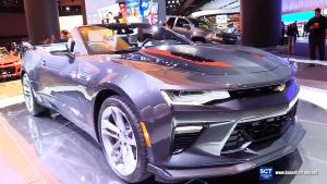 2017北美车展 实拍科迈罗50周年纪念版