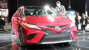 丰田征战2017北美车展 全新凯美瑞亮相