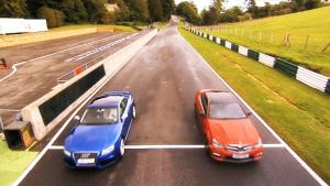 圈速对决 奥迪RS5挑战奔驰C63 AMG