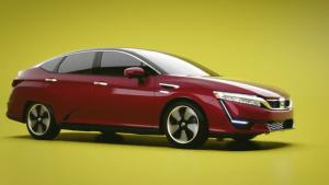 2017款本田Clarity氢燃料车 续航出色