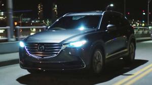 2017款马自达CX-9 标配LED头灯