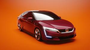 2017款本田Clarity 燃料电池组更紧凑