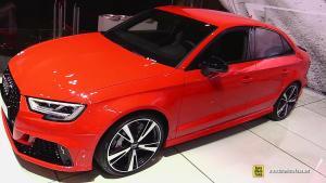 全新奥迪RS3将引入 动力输出超竞品