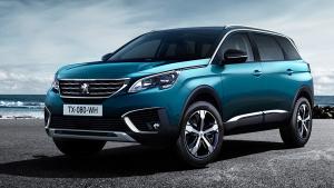 海外体验新标致5008 全新7座中型SUV