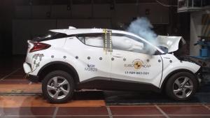 全新丰田C-HR E-NCAP碰撞测试获五星