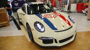 2017日内瓦车展 保时捷911R豪雅版曝光