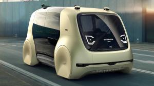 大众Sedric概念车外表呆萌 可自动驾驶