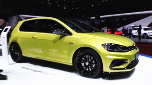 2017日内瓦车展 新款高尔夫R三门版发布