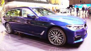 2017日内瓦车展 宝马530d旅行版发布