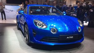 2017日内瓦车展 雷诺Alpine A110亮相
