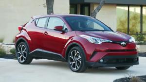 2018款丰田C-HR海外版 多种配色可选
