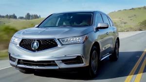 2017款讴歌MDX美式SUV 配钻石形前格栅