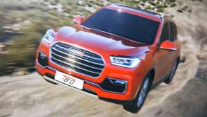 2017上海车展 中型SUV野马T80将上市