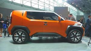 2017纽约车展 丰田FT-4X概念车发布