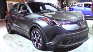 2017纽约车展 2018款丰田C-HR亮相