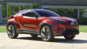 2017上海车展 Scion C-HR概念车将亮相