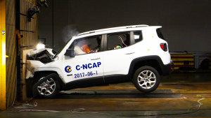 C-NCAP碰撞测试 Jeep自由侠荣获5星