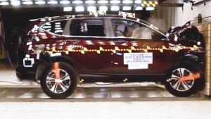2017款本田CR-V NHTSA正面碰撞测试