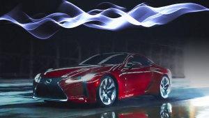 强悍迷人 雷克萨斯LC 500加速排气声浪