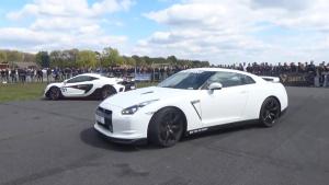 双车竞速 奥迪RS7 VS日产GT-R R35