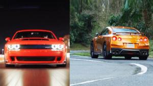 2017款日产GT-R对比挑战者Demon