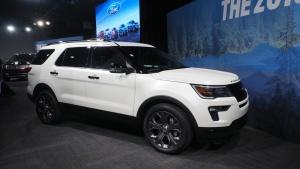 2018款福特探险者 安全性能升级