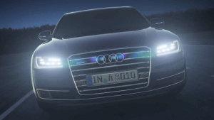 全新奥迪A8 矩阵LED大灯照明技术详解