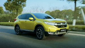 全新本田CR-V城市SUV 将于7月9日上市