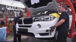 全新一代宝马X3工厂探秘 明年国内投产