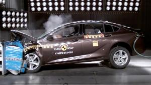E-NCAP碰撞测试 欧宝Insignia获五星