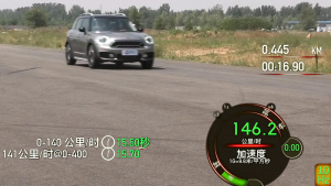 2017款MINI COUNTRYMAN 2.0T加速测试