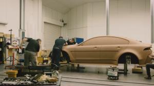 捷豹XE SV Project 8  黏土模型工艺