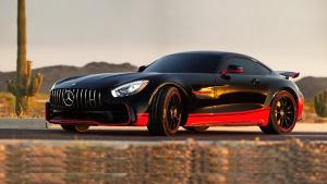 奔驰AMG GT R 改装成《变形金刚5》造型