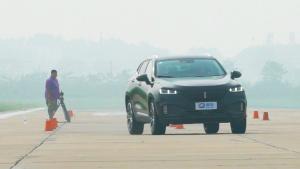长城 WEY VV7 110米紧急变线测试