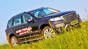 8AT高性能SUV新哈弗H8 穿越大美草原