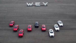 长城WEY VV7媒体试驾会 生产基地曝光
