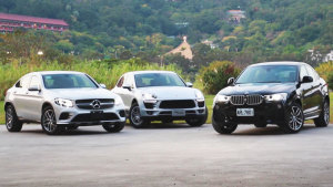 豪华SUV大战 宝马X4/奔驰GLC/Macan