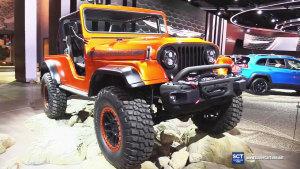 2017款Jeep CJ66概念车 改装混搭复古风