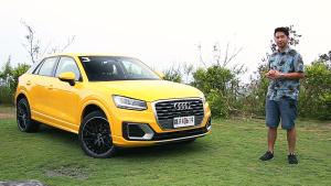 颜值与实力兼具 试驾全新奥迪Q2小型SUV