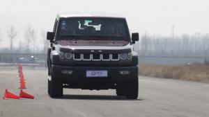 北京汽车BJ40 刹车及满载刹车测试